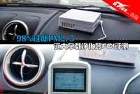 99%过滤PM2.5 远大车载净化器FC1评测