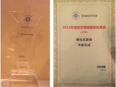 华胜天成获2015年度数字营销案例优秀奖