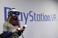 索尼发布多款VR游戏 联机功能首次亮相