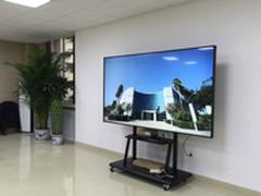 大屏演绎高大上会客室与智能化速递服务