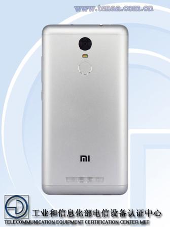 至于电池容量则为4000mAh,因此预计应该是红米Note 3的全网通版图片