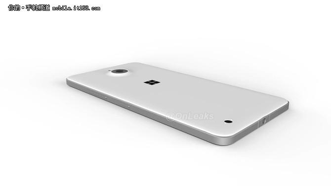 金属边框设计 疑似Lumia 850外观曝光