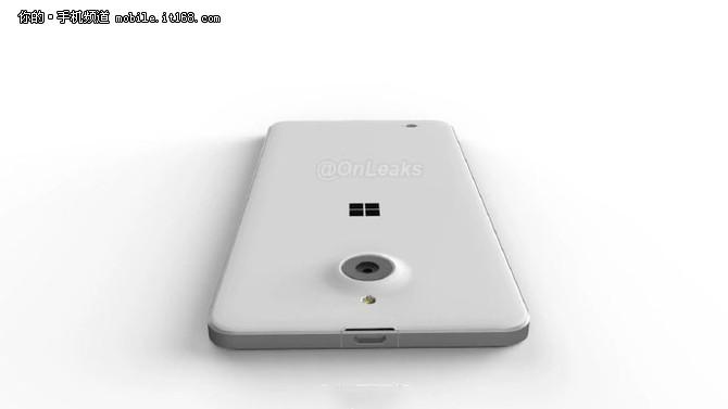 前置闪灯 Lumia650XL渲染图泄露