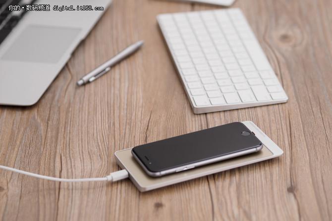 玩新鲜 有感科技推出无线充电手机伴侣