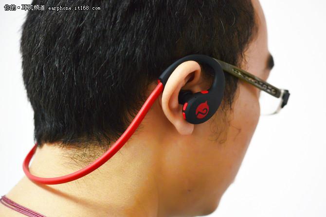 自带计步器 摩集客运动蓝牙耳机试玩