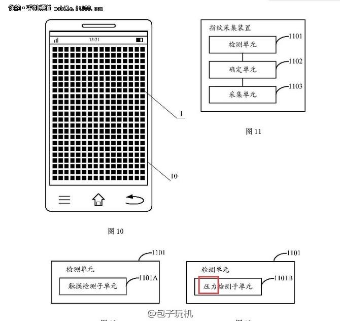 新专利曝光 小米5或支持全触屏指纹识别
