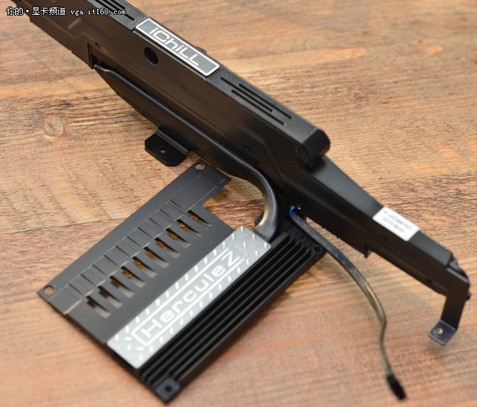 映众GTX980ti冰龙超级版 散热系统鉴赏