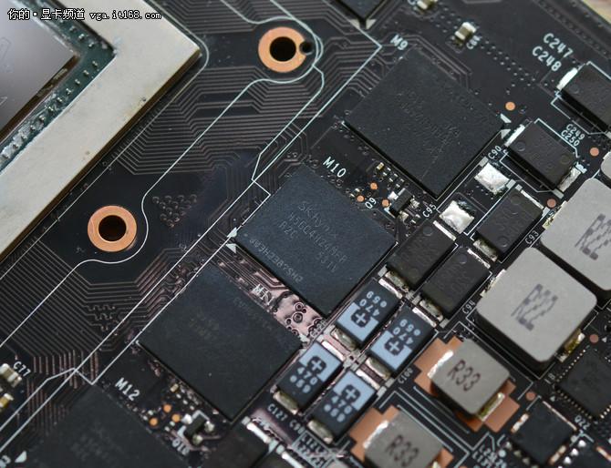 映众GTX980ti冰龙超级版 PCB