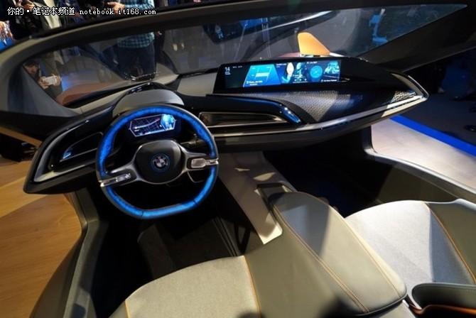 汽车更智能 宝马新互联驾驶概念车发布