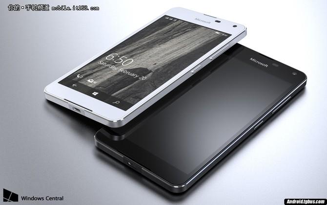 或支持无线充电功能 Lumia 650真机曝光