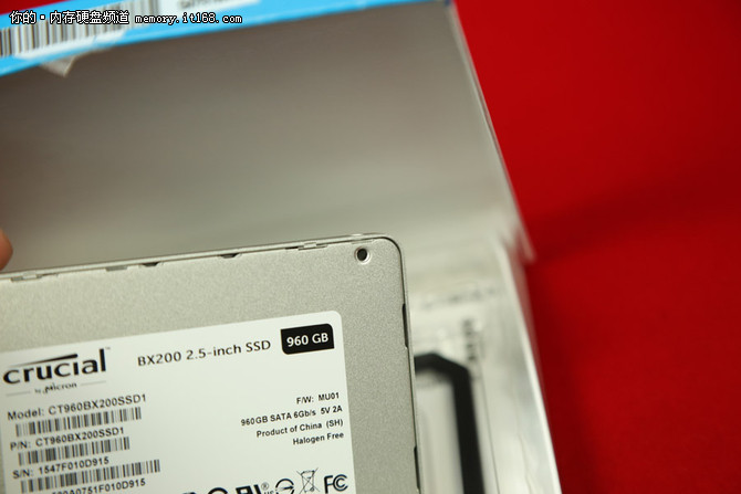 性价比爆表 英睿达BX200 SSD 960G评测