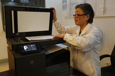 惠普X576健康优质打印,护航爱康国宾