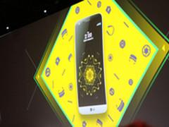 可变形机身设计 LG G5正式发布