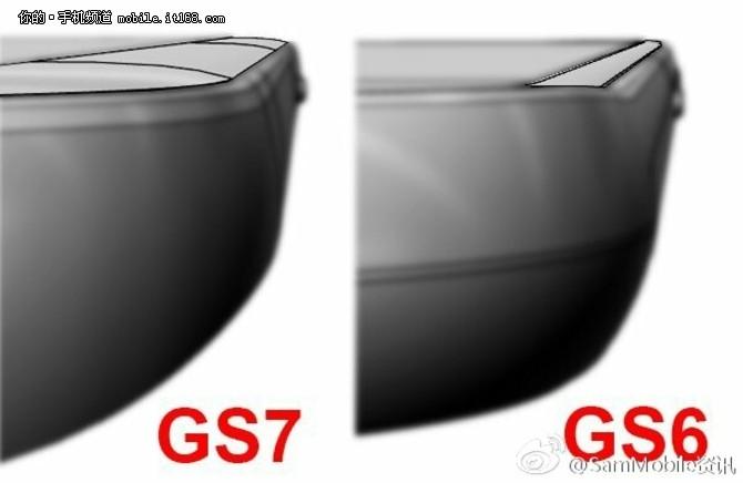 三星Galaxy S7对比Note5机身细节图曝光