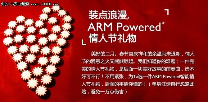 装点浪漫 ARM Powered情人节礼物