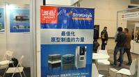 震旦3D事业部亮相3D打印展览会
