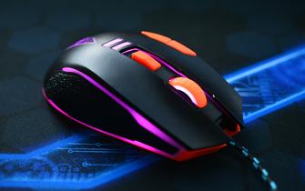 老法师新工艺 新贵GX5-Plus鼠标试玩