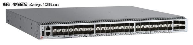 博科推出业内首台第6代光纤通道交换机