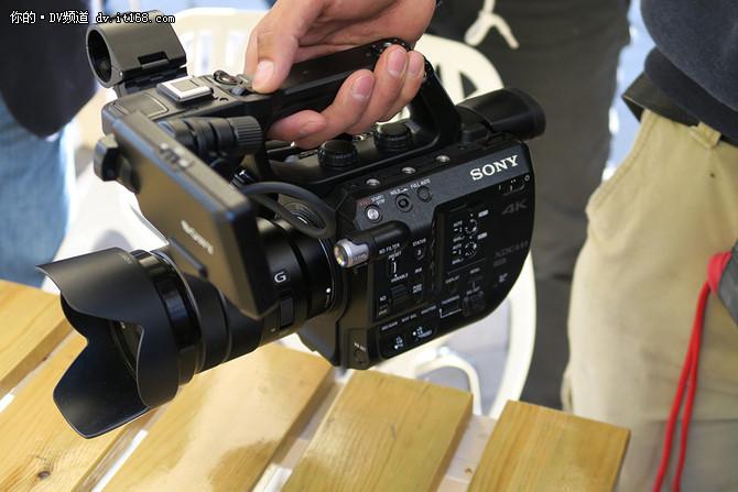 全幅传感器 索尼或推6K视频E卡口摄像机