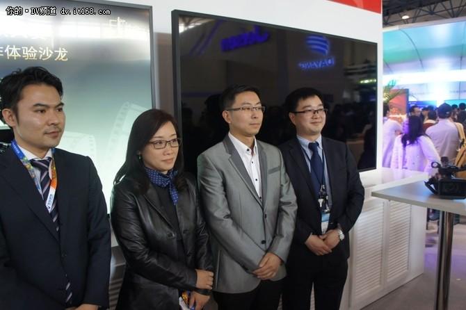 索尼参展CCBN2016 展示4K HDR等技术