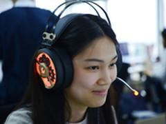 大耳罩显得脸小 魔磁M660游戏耳麦试听