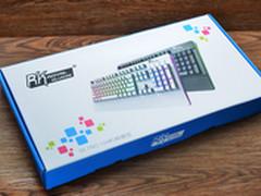 特殊的背光技巧 RK机械键盘试玩体验
