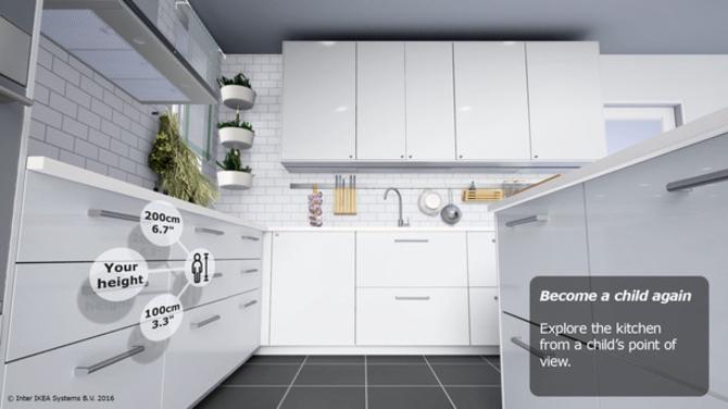 宜家推VR体验:北欧风厨房做瑞典肉丸