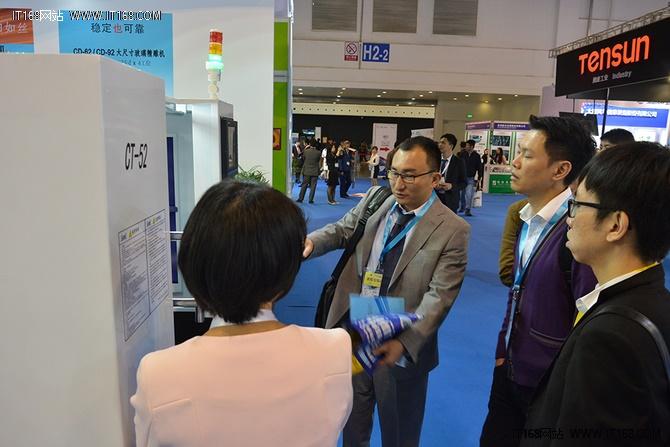 诠脑机电携新品亮相2016上海国际全触展