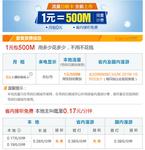 1元包500MB流量 广东联通推出4G日租卡
