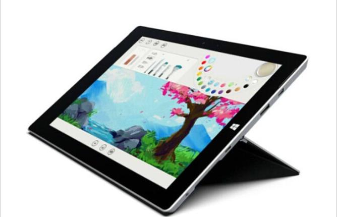 微软Surface3 凌动四核128G特价3999元