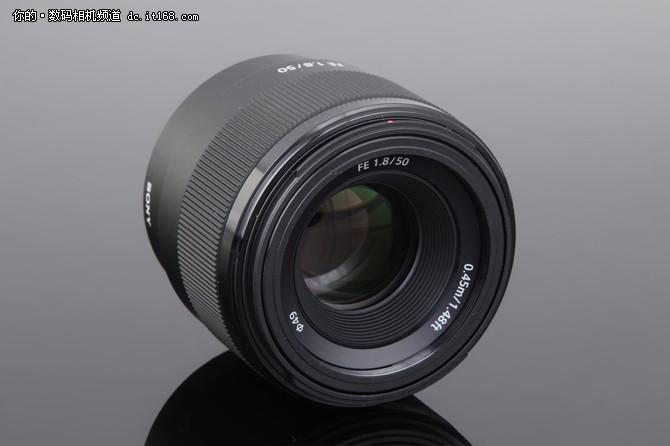 高性价比标头 索尼FE 50mm F1.8外观