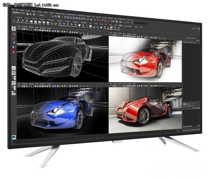 4K窄边框 飞利浦43英寸显示器仅售3765
