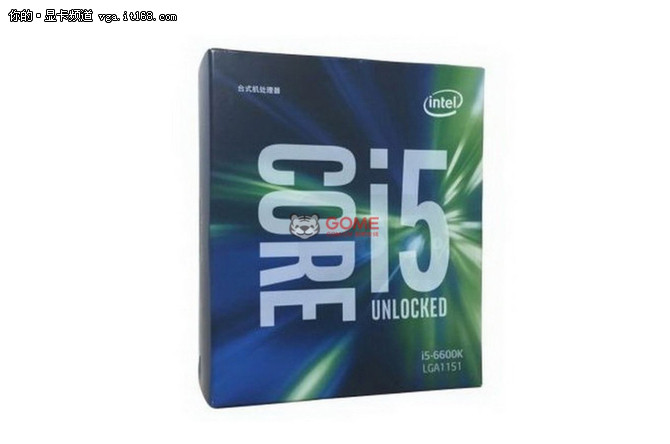 主频3.5GHz 功耗95W i5-6600K仅售1659