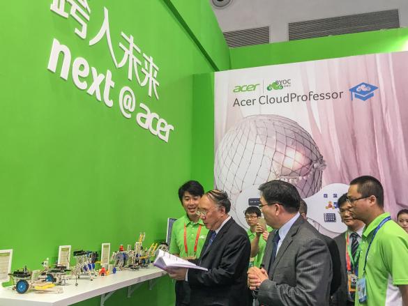 Acer宏碁闪耀山城 携手渝洽会跨入未来