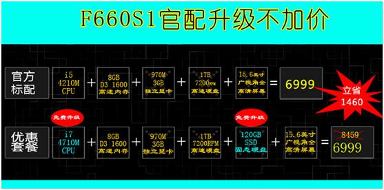 实力悍将镭波F660S1升级不加价天猫热售