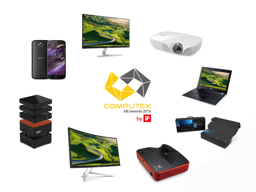 宏碁8款产品获台北电脑展创新奖