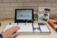 丰富键入感 i-Rocks自主研发静电容键盘