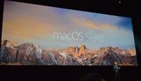 OS X更名macOS:首个版本命名为Sierra