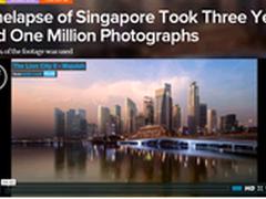 拍摄三年 上百万照片的延时摄影长啥样