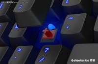 赛睿APEX M500电竞专用机械键盘仅769