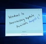 微软8月2日推出Windows 10一周年更新