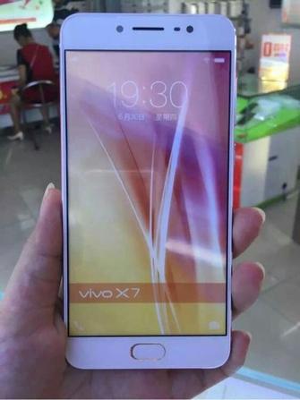 配5.7寸屏 vivo X7 Plus粉色版真机泄露