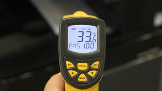 东芝2500AC发热量测试