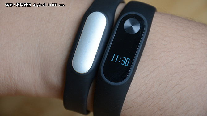 LED屏加心率检测 小米手环2代使用评测