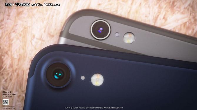超窄边框设计 iphone 7正面谍照曝光