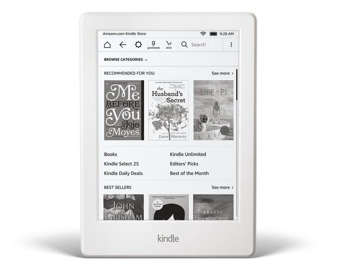 亚马逊推出新款入门级Kindle 仅80美元