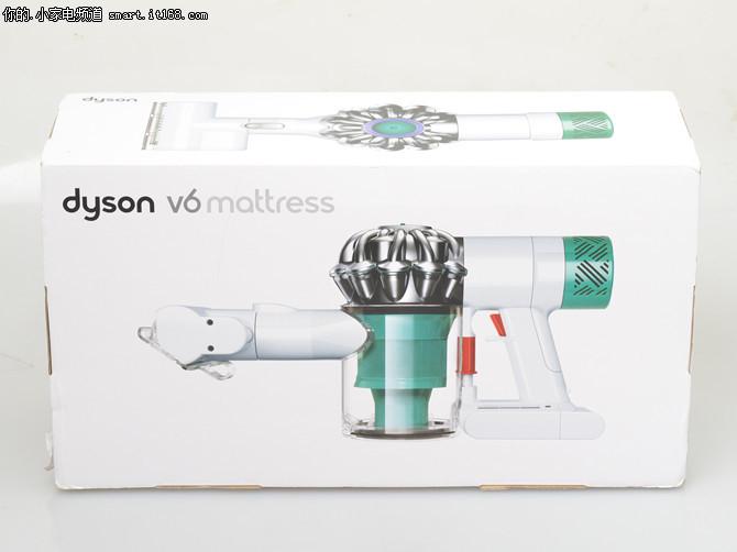 戴森V6 Mattress吸尘器评测-包装&附件