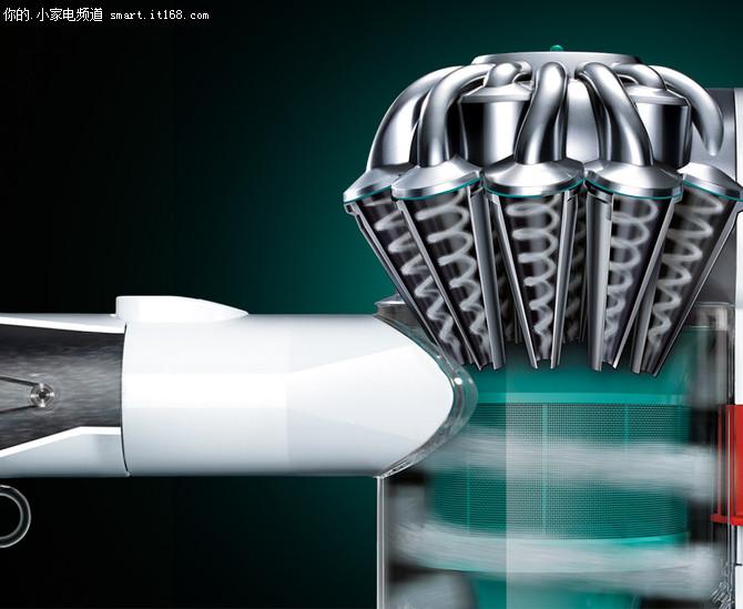 戴森V6 Mattress吸尘器评测-尘桶&主机