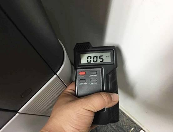 【三星X7600GX电磁辐射测试】