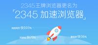 2345王牌浏览器更名 铁心要为用户加速